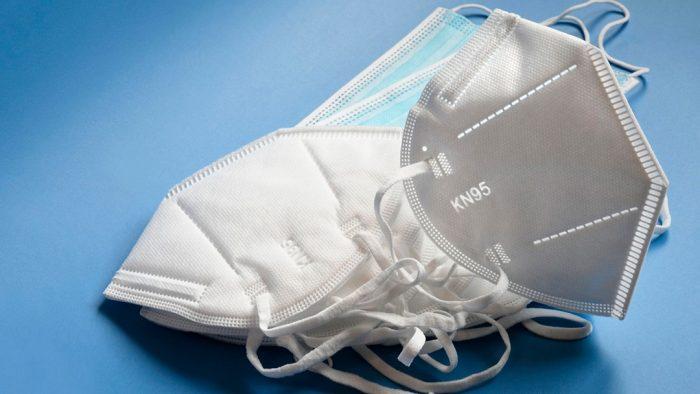 diferença entre uma máscara cirúrgica, um respirador FFP2 e um respirador KN95?